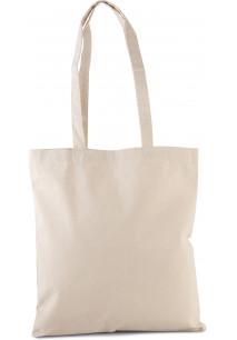 Klassische Shoppingtasche aus Bio-Baumwolle.