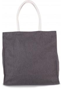 Große Shoppingtasche aus Baumwollpolyester