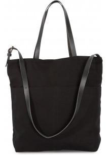 Handtasche mit Schultergurt aus Leder