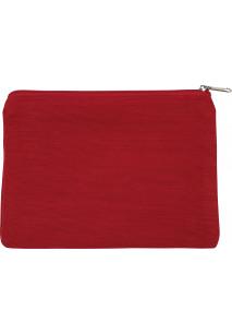 Kleine Tasche aus Jute-Baumwollmischgewebe