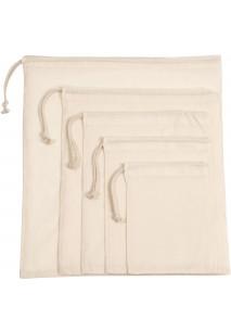 Tasche mit Kordelzug aus Bio-Baumwolle