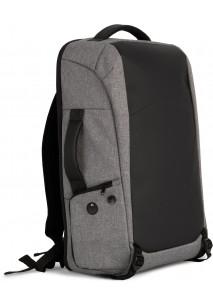 Diebstahlschutz-Rucksack aus Polyester.
