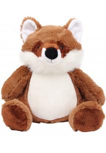 Plüschtier Fuchs mit Reißverschluss