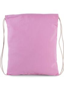 Kleiner Rucksack aus Bio-Baumwolle mit Kordeln