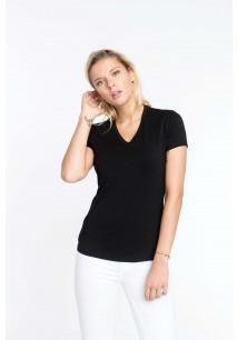 Electra > Damen T-Shirt V-Ausschnitt