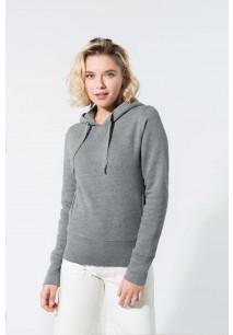 Damen Kapuzensweatshirt BIO-BAUMWOLLE