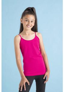Kids' Spaghetti Vest with Adjustable Straps