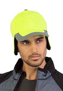 Fluoreszierende 6-Panel-Kappe für den Winter