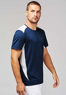 Sportshirt Bicolor