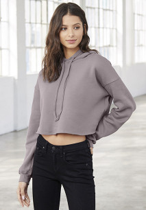 Cropped Kapuzensweatshirt