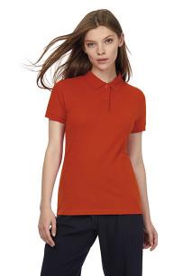 Ladies' organic polo shirt