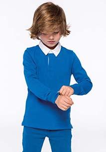 Kinder Rugby Polohemd