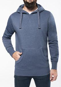 Kapuzen-Sweatshirt, Mischgewebe