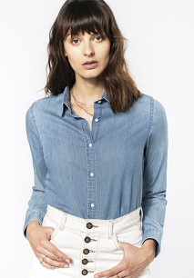 Damen Denimhemd