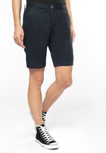 Chino-Bermuda-Shorts für Damen