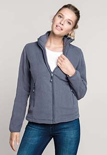 Maureen > Mikrofleece-Jacke Full Zip Damen