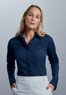 Ladies' Long Sleeve Ultimate Stretch
