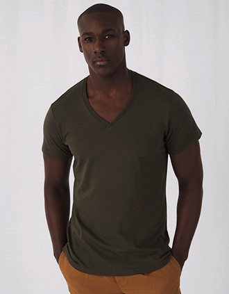 Organic Cotton Inspire V-neck T-shirt