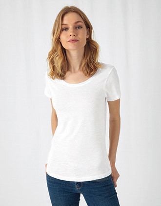 Ladies' SLUB Organic Cotton Inspire T-shirt