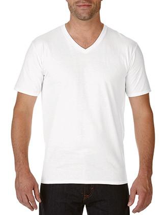 Premium Herren T-Shirt, V-Ausschnitt