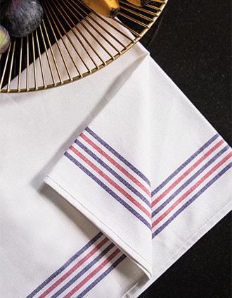 Spültuch mit 5 Streifen Origine France garantie