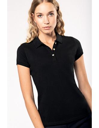 Damen-Kurzarm-Polohemd Supima®