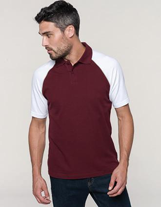 Baseball > Kurzarm Poloshirt