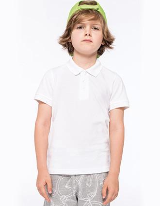 Kinder Poloshirt Kurzarm