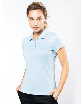 Kurzarm-Polohemd für Damen
