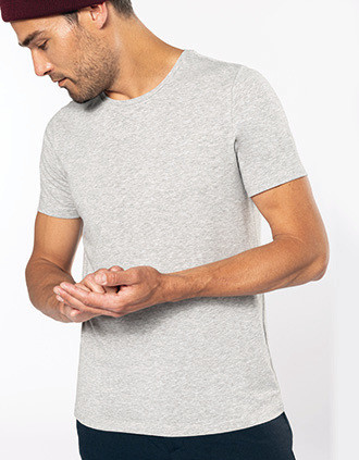 Kurzarm-T-Shirt mit Rundhalsausschnitt
