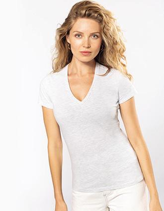 Damen-T-Shirt BIO150 mit V-Ausschnitt