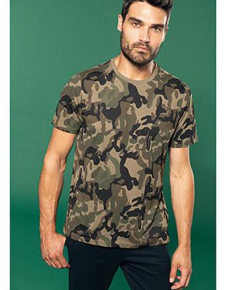 Kurzarm-T-Shirt Camo
