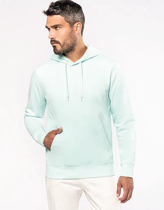 Umweltfreundliches Kapuzensweatshirt für Herren