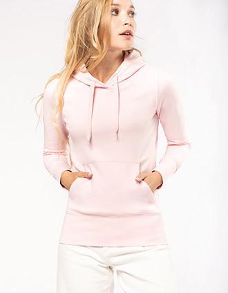 Umweltfreundliches Kapuzensweatshirt für Damen