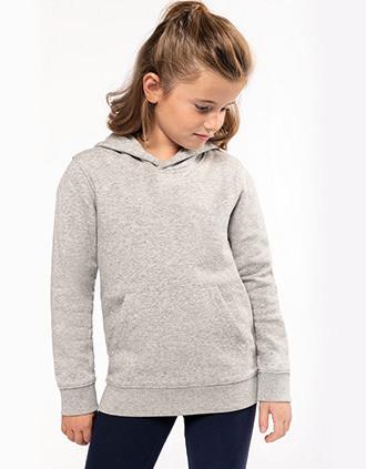 Umweltfreundliches Kapuzensweatshirt für Kinder