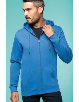 Kapuzensweatshirt mit Reißverschluss