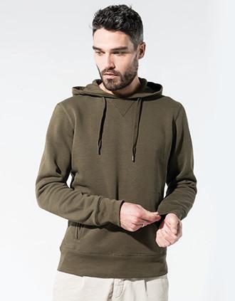 Herren Kapuzen-Sweatshirt BIO-BAUMWOLLE