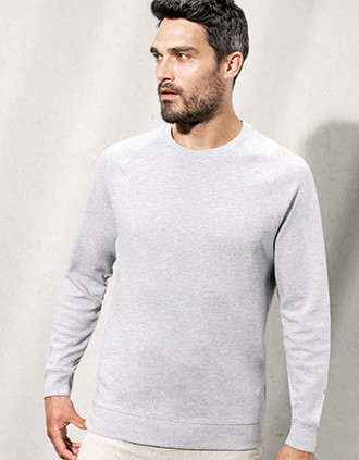 Bio-Sweatshirt aus Piqué