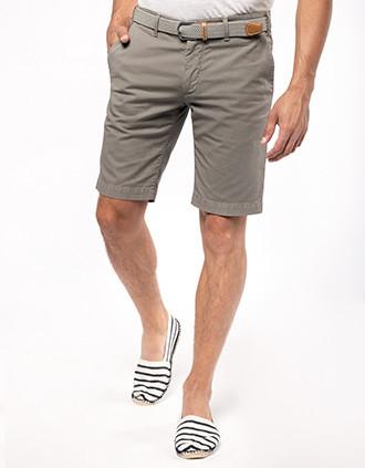 Chino-Bermuda-Shorts für Herren