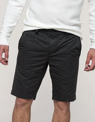Bermuda-Shorts für Herren im ausgewaschenen Look