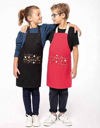 Weihnachtsschürze Kinder Herkunftsland Frankreich garantiert