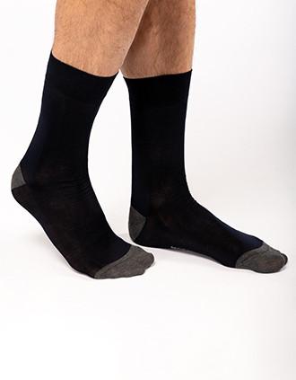 Schicke, halblange Socken aus merzerisierter Baumwolle