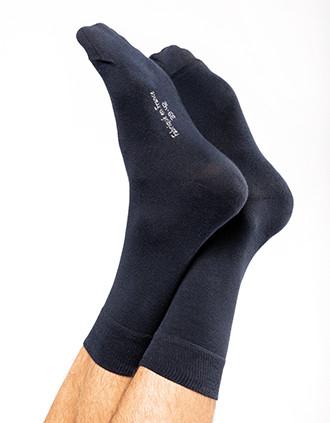 Schicke, halbhohe Socken aus Bio-Baumwolle