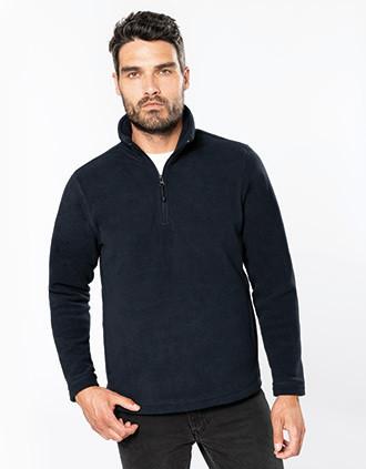 Enzo > Mikrofleece Pullover 1/4 Zip