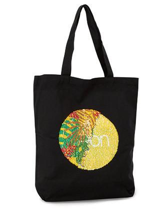 Shoppingtasche mit Pailletten