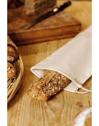 Baguettebeutel aus Bio-Baumwolle