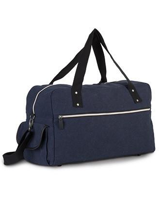 Reisetasche aus beschichtetem Baumwollcanvas