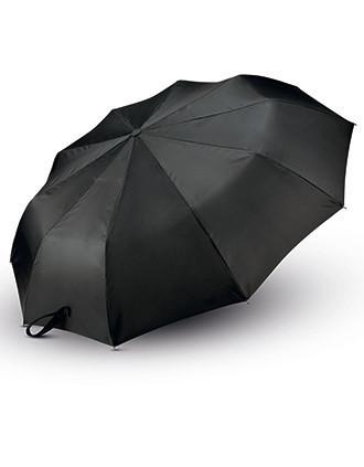 Klassischer Faltregenschirm mit J-griff