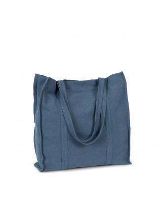 Handgewebte Shoppingtasche aus Canvas