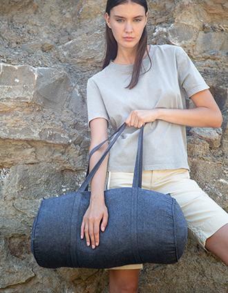 Handgewebte Sport- und Reisetasche